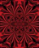 Mandala rouge Photographie stock libre de droits