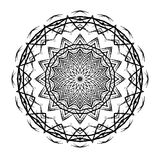 Mandala Round Ethnic Pattern Vector Stockfotos