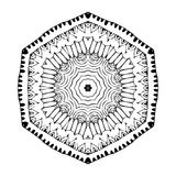 Mandala. Round oriental pattern in indian style Stock Images