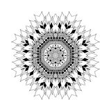Mandala. Round oriental pattern in indian style Royalty Free Stock Images