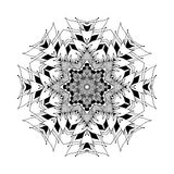 Mandala. Round oriental pattern in indian style Royalty Free Stock Photo