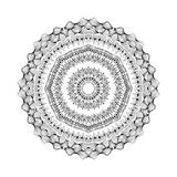 Mandala. Round oriental pattern in indian style Stock Photography