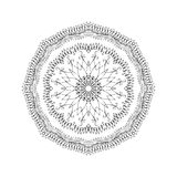 Mandala. Round oriental pattern in indian style Stock Photo