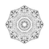 Mandala. Round oriental pattern in indian style Stock Image