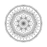 Mandala. Round oriental pattern in indian style Royalty Free Stock Image
