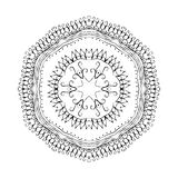 Mandala. Round oriental pattern in indian style Royalty Free Stock Photos