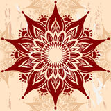 Mandala Round Ornament Stock Photography