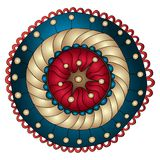 Mandala. Round Ornament Pattern. Royalty Free Stock Photo