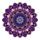 Mandala. Round Ornament Pattern. Beautiful ornament can be used. A greeting card. Hand drawn background stock illustration