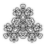 Mandala. Round Ornament Pattern. Royalty Free Stock Images