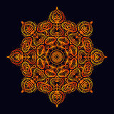 Mandala. Round Ornament Pattern Stock Photography
