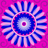 Mandala Round Ornament Pattern Floral Drawing royalty free stock photography