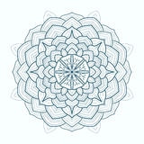Mandala. Round Ornament Pattern.  Hand drawn background Royalty Free Stock Photos