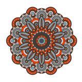 Mandala. Round ornament pattern Royalty Free Stock Photos