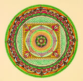 Mandala, round ornament pattern Royalty Free Stock Images