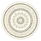 Mandala. Round Ornament Pattern. Stock Photography