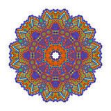 Mandala Round Ornament Pattern Vector Foto de archivo