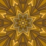 Mandala Round Ornament Pattern Vector Lizenzfreie Stockbilder