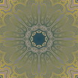 Mandala Round Ornament Pattern Vector Photo libre de droits