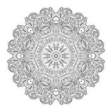 Mandala Round Ornament Pattern Vector Fotografía de archivo