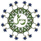 Mandala Round Ornament Pattern Vector Foto de archivo libre de regalías