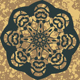 Mandala. Round Ornament Pattern. Vector floral Royalty Free Stock Photos