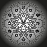 Mandala. Round Ornament Pattern. Vector illustration Stock Illustration