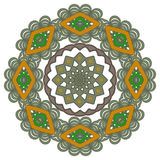 Mandala. Round Ornament Pattern. Vintage decorative elements bac Stock Image