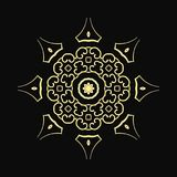 Round Ornament Pattern vector illustration