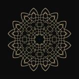 Round Ornament Pattern royalty free illustration