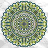 Mandala. Round Ornament Pattern. Vintage decorative elements. Hand drawn background. Islam, Arabic, Indian, ottoman motifs Stock Photos