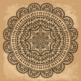 Mandala. Round Ornament Pattern. Vintage decorative elements. Hand drawn background. Islam, Arabic, Indian, ottoman motifs Royalty Free Stock Photos