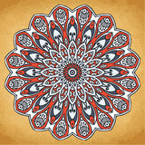 Mandala. Round Ornament Pattern. Vintage decorative elements. Hand drawn background. Islam, Arabic, Indian, ottoman motifs Stock Image