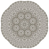 Mandala. Round Ornament Pattern. Vintage decorative elements. Hand drawn background. Islam, Arabic, Indian, ottoman motifs Royalty Free Stock Photo