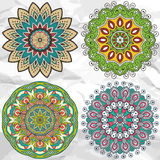 Mandala. Round Ornament Pattern. Vintage decorative elements. Hand drawn background. Islam, Arabic, Indian, ottoman motifs Stock Photo
