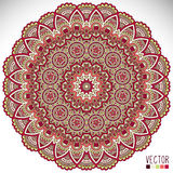 Mandala. Round Ornament Pattern. Vintage decorative elements. Hand drawn background. Islam, Arabic, Indian, ottoman motifs Royalty Free Stock Photography
