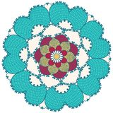 Mandala. Round Ornament Pattern. Stock Photo
