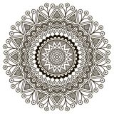 Mandala. Round Ornament Pattern. Vintage decorative elements. Hand drawn background. Islam, Arabic, Indian, ottoman motifs royalty free stock photos