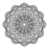 Mandala. Round Ornament Pattern. Vintage decorative elements. Hand drawn background. Islam, Arabic, Indian, ottoman motifs. Royalty Free Stock Photography