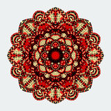 Mandala. Round Ornament Pattern. Vintage decorative elements Royalty Free Stock Images
