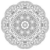 Mandala. Round Ornament. Vintage decorative elements. Oriental pattern, vector illustration. Islam, Arabic or Indian or turkish or pakistan or chinese or Royalty Free Stock Images