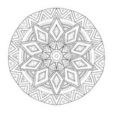 Mandala. Round Ornament. Vintage decorative elements. Oriental pattern, vector illustration. Islam and Arabic and Indian and turkish and pakistan, and chinese Royalty Free Stock Images