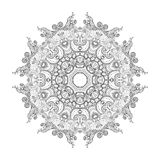 Mandala. Round Ornament. Vintage decorative elements. Oriental pattern, vector illustration. Islam and Arabic and Indian and turkish and pakistan, and chinese Royalty Free Stock Photo
