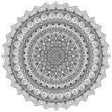 mandala Round ornamentu wzór Fotografia Stock