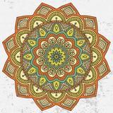 mandala Round ornamentu wzór Obrazy Stock
