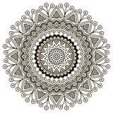 mandala Round ornamentu wzór Zdjęcia Royalty Free
