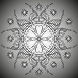 mandala Round ornamentu wzór Obraz Stock