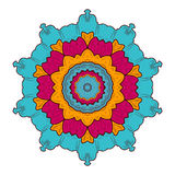 mandala Round ornamentu wzór wektor Royalty Ilustracja
