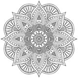 Mandala royalty free illustration