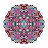 Mandala. Round vector ornament Mandala. Traditional orient symbol Royalty Free Stock Photo